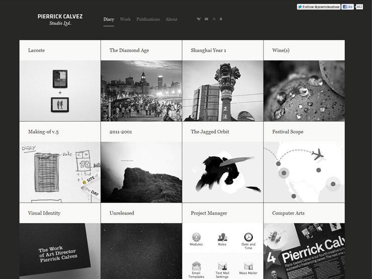 الشبكة في تصميم صفحات الويب وتطبيقات المحمول