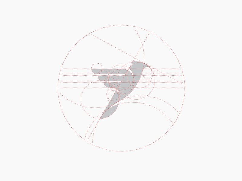 استخدام الشبكة في تصميم الشعارات