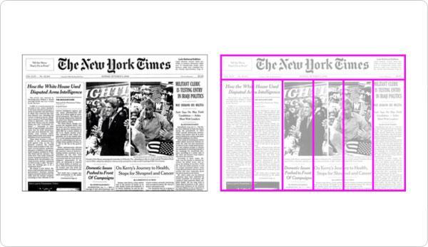 استخدام النظام الشبكي في الصحف الاخبارية