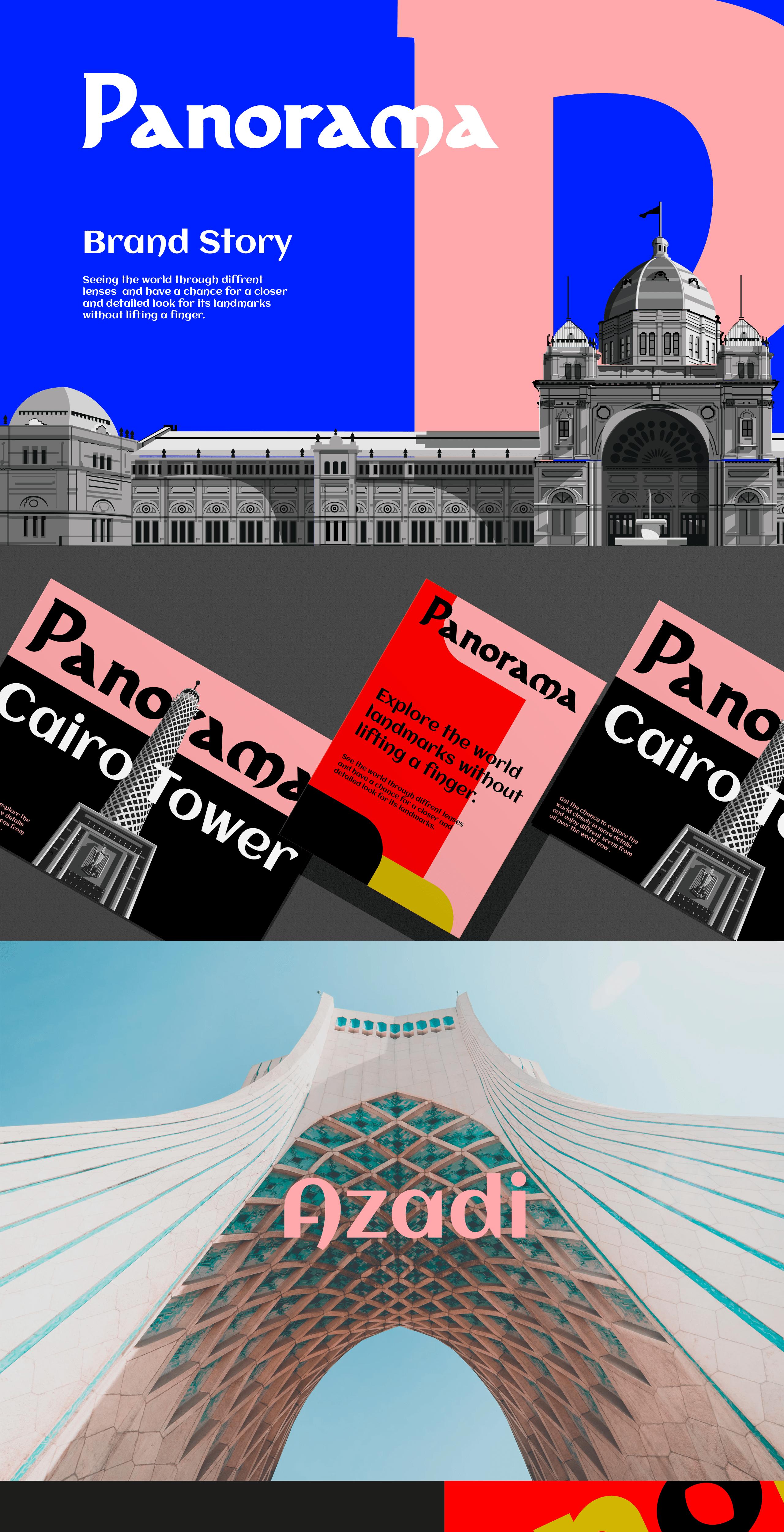 Panorama landmarks