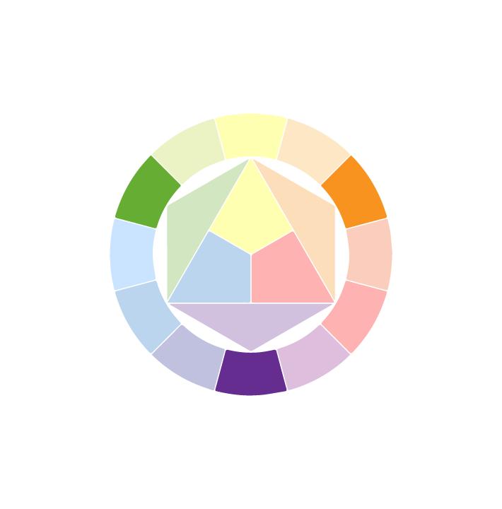 الألوان الثانوية (Secondary colors)