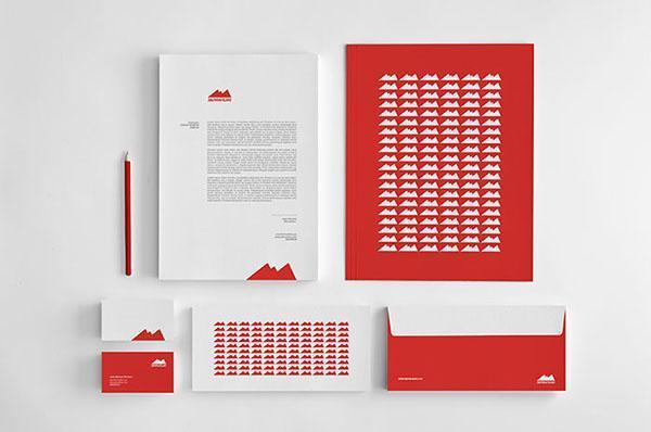 استخدام اللون الأحمر في التصميم