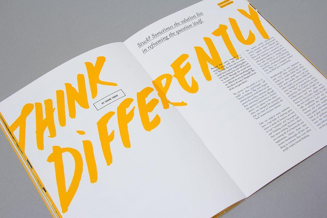 استخدام اللون والتباين في التصميم