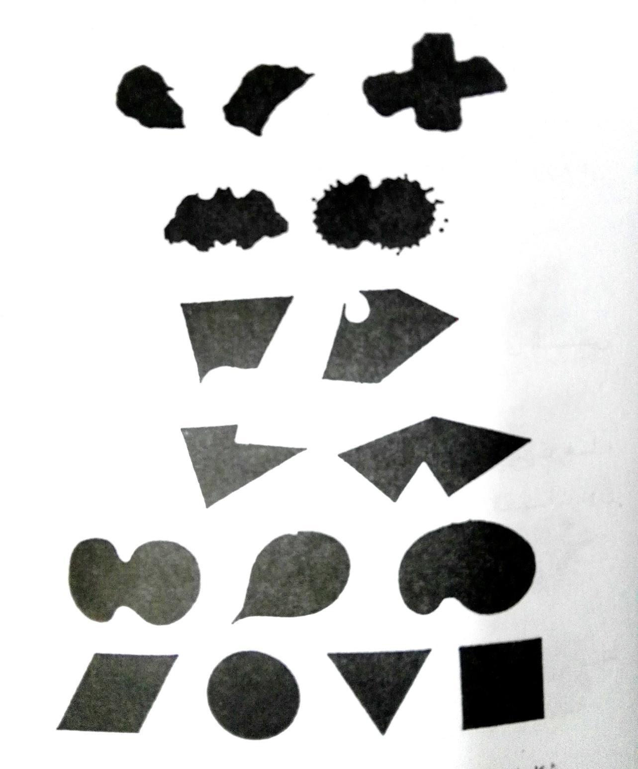 الأشكال العضوية