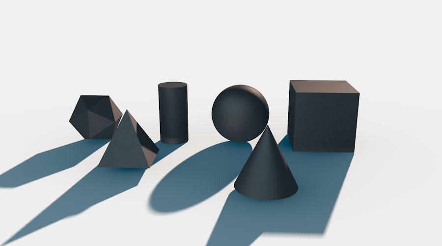 الأشكال الثلاثية الأبعاد
